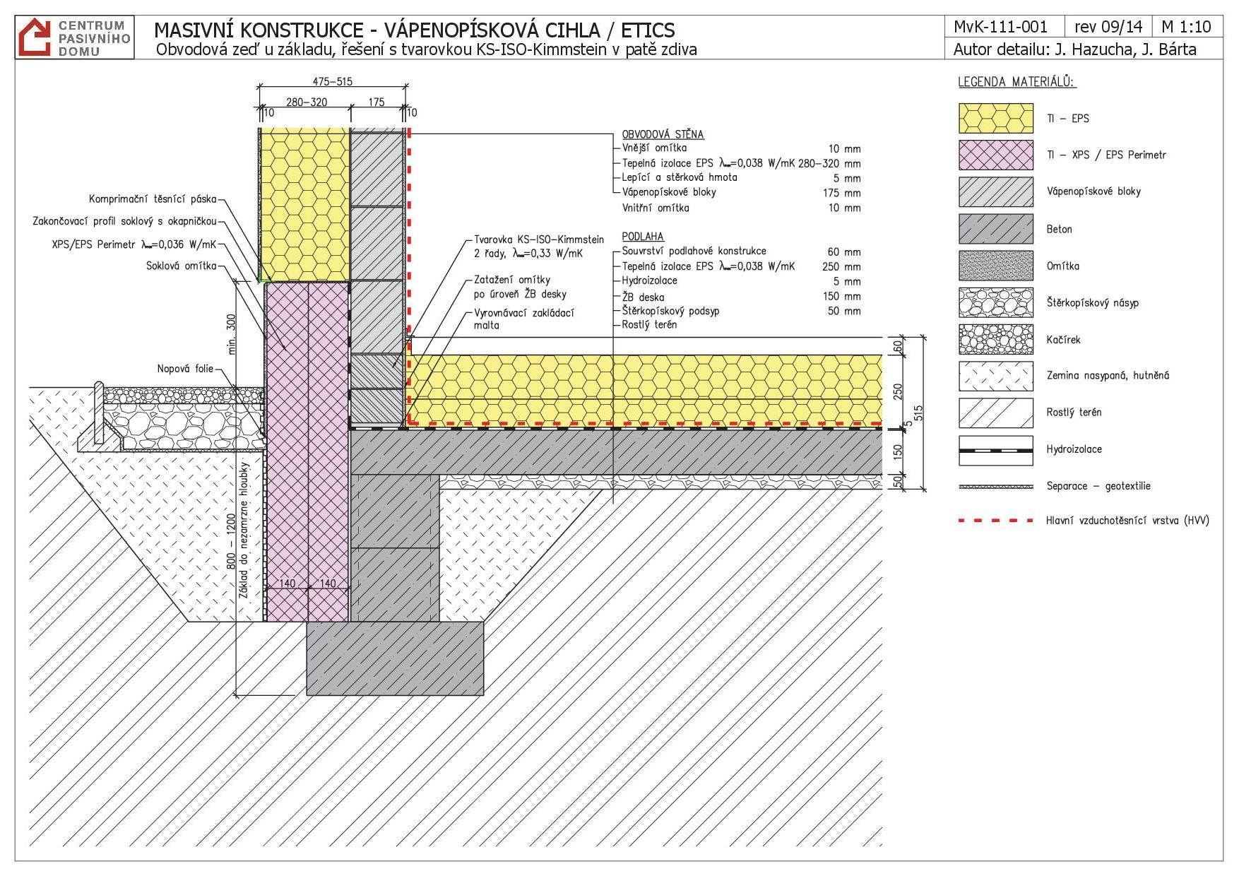 obvodov ze u z kladu e en s tvarovkou ks iso kimmstein v pat zdiva. Black Bedroom Furniture Sets. Home Design Ideas