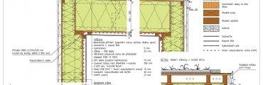 Dřevostavba konstrukční detaily